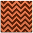 rug #454385 | square red-orange rug