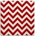 rug #454425 | square red stripes rug