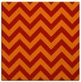 rug #454429 | square red retro rug