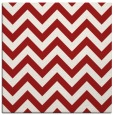 rug #454433 | square red retro rug