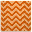 rug #454445 | square red-orange retro rug