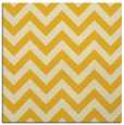 rug #454473 | square yellow stripes rug
