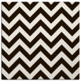 rug #454481 | square brown retro rug