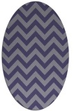 rug #454626 | oval stripes rug