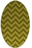 rug #454857 | oval light-green rug