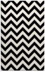 rug #454893 |  black stripes rug