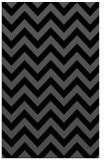 rug #454897 |  black stripes rug