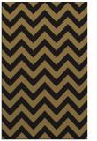 rug #454909 |  brown retro rug