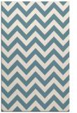 rug #454913 |  blue-green retro rug
