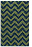 rug #454925    green stripes rug