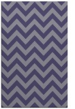 rug #454977 |  blue-violet stripes rug