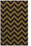 rug #455005 |  mid-brown stripes rug