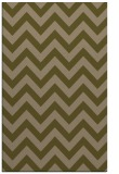 rug #455009 |  mid-brown stripes rug