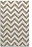 rug #455029 |  mid-brown retro rug