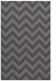 rug #455037 |  brown stripes rug