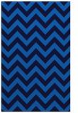 rug #455057 |  blue retro rug