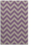 rug #455069 |  purple stripes rug