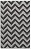 rug #455089 |  orange stripes rug