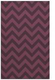 rug #455113 |  purple stripes rug