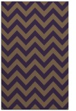rug #455121 |  purple stripes rug