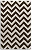 rug #455185 |  brown stripes rug