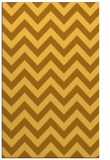 rug #455193 |  yellow stripes rug
