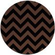 rug #455257   round brown retro rug