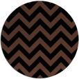 rug #455258   round retro rug