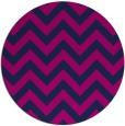 rug #455269 | round pink retro rug