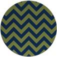 rug #455277 | round blue retro rug