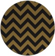 rug #455357 | round black stripes rug