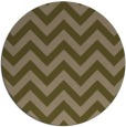 rug #455361 | round brown retro rug
