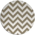 rug #455381 | round white stripes rug
