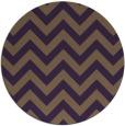 rug #455473 | round purple stripes rug