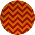 rug #455485 | round red stripes rug