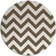 rug #455535   round stripes rug