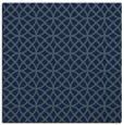 rug #455977 | square blue circles rug