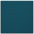 rug #456025 | square blue-green popular rug