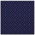 rug #456029   square blue-violet circles rug