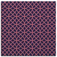 rug #456037 | square blue-violet geometry rug
