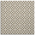 rug #456085 | square mid-brown rug