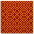 rug #456133   square orange circles rug