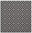 rug #456145 | square red-orange circles rug