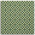 rug #456149 | square yellow circles rug
