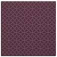rug #456169 | square purple circles rug