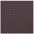 rug #456177 | square purple circles rug