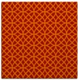 rug #456189 | square red circles rug