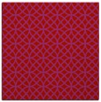 rug #456197 | square red circles rug