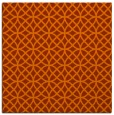 rug #456201 | square red-orange circles rug