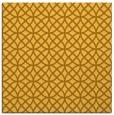 rug #456249 | square light-orange circles rug
